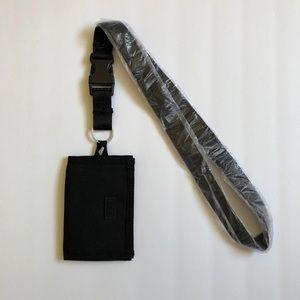 $20 New VS PINK Black Velcro ID Holder